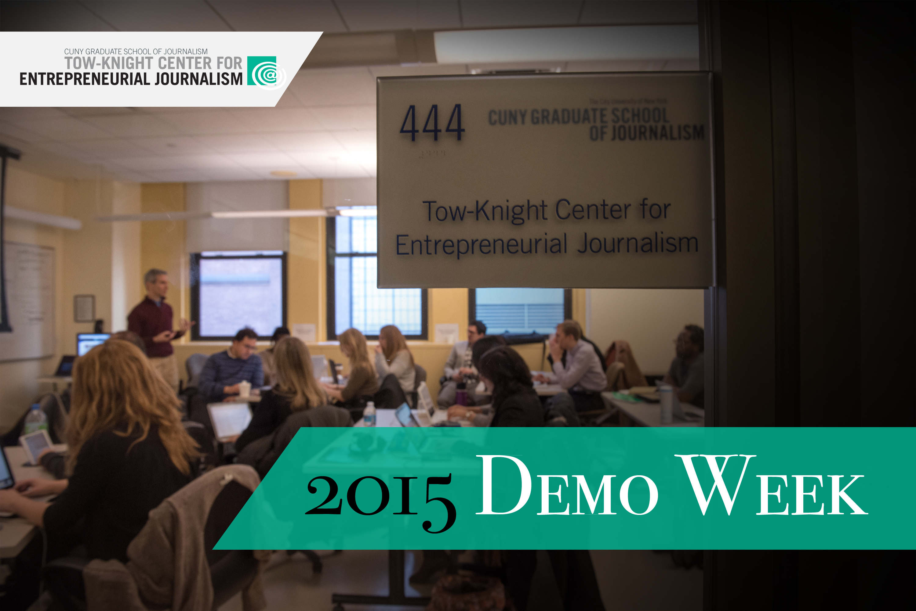 The 2015 Tow-Knight fellows are presenting their startup journalism projects